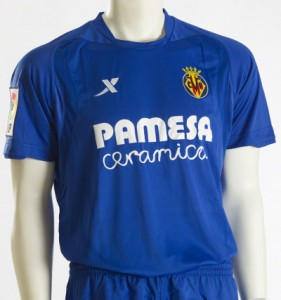 Villarreal strój wyjazdowy