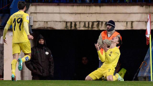 Villarreal pokonuje Atletico Madryt