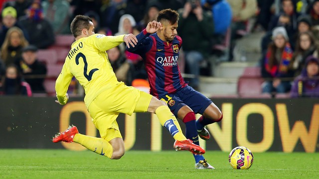Copa del Rey: Villarreal przegrywa z Barcą w pierwszym półfinale